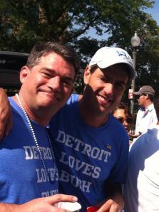 Detroit Lions Reggie Bush Detroit Loves Bush Tshirt Tee Shirt Lions