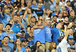Detroit Loves Bush Detroit Lions Fans Ford Field Reggie Bush NFH