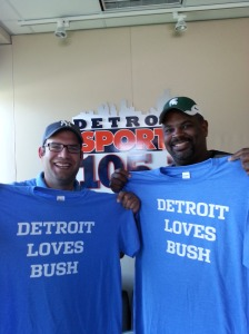 Detroit Loves Reggie Bush Ryan Ermanni Rico Beard DSports1051 NFL