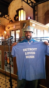 Theo Gridiron Spight Detroit Loves Bush NFL football Lions