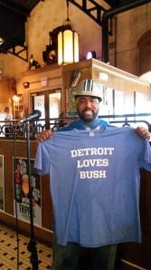 Theo Gridiron Spight Detroit Loves Bush NFL football Lions